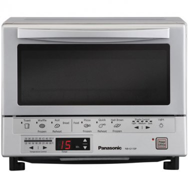 Panasonic NB-G110P - Flash Express Silver Toaster Oven