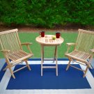 Tortuga Jakarta 3 Pc Folding Bistro Set TK-3PC-F