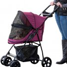 Happy Trails Lite NO-ZIP Pet Stroller - Boysenberry PG8030NZBB