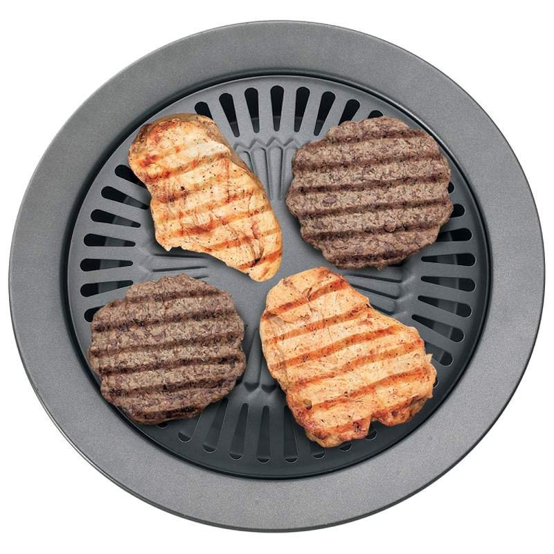 Chefmaster� Smokeless Indoor Stovetop Barbeque Grill  KTGR5