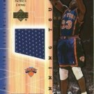 2001-02 Upper Deck Basketball Winning Touch Game Jerseys #PEWT Patrick Ewing