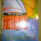 Brand New College Physics ISBN 0072875593
