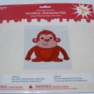 Decorate Your Own Pink Monkey Character Kit