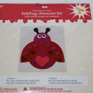 Decorate Your Own Red Ladybug Character Kit