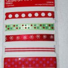 TPC Studio Christmas Fun Ribbon 1 Year Each for Scrapbooks 2009876