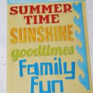 TPC Studio Summertime Chipboard Word Stickers
