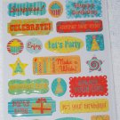 TPC Studio Party Hearty Dome Stickers