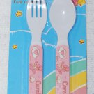Care Bears Baby Fork & Spoon Utensils Pink