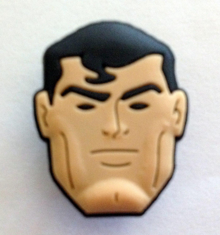 Superman Comic Book Hero Shoe Charm Party Favors