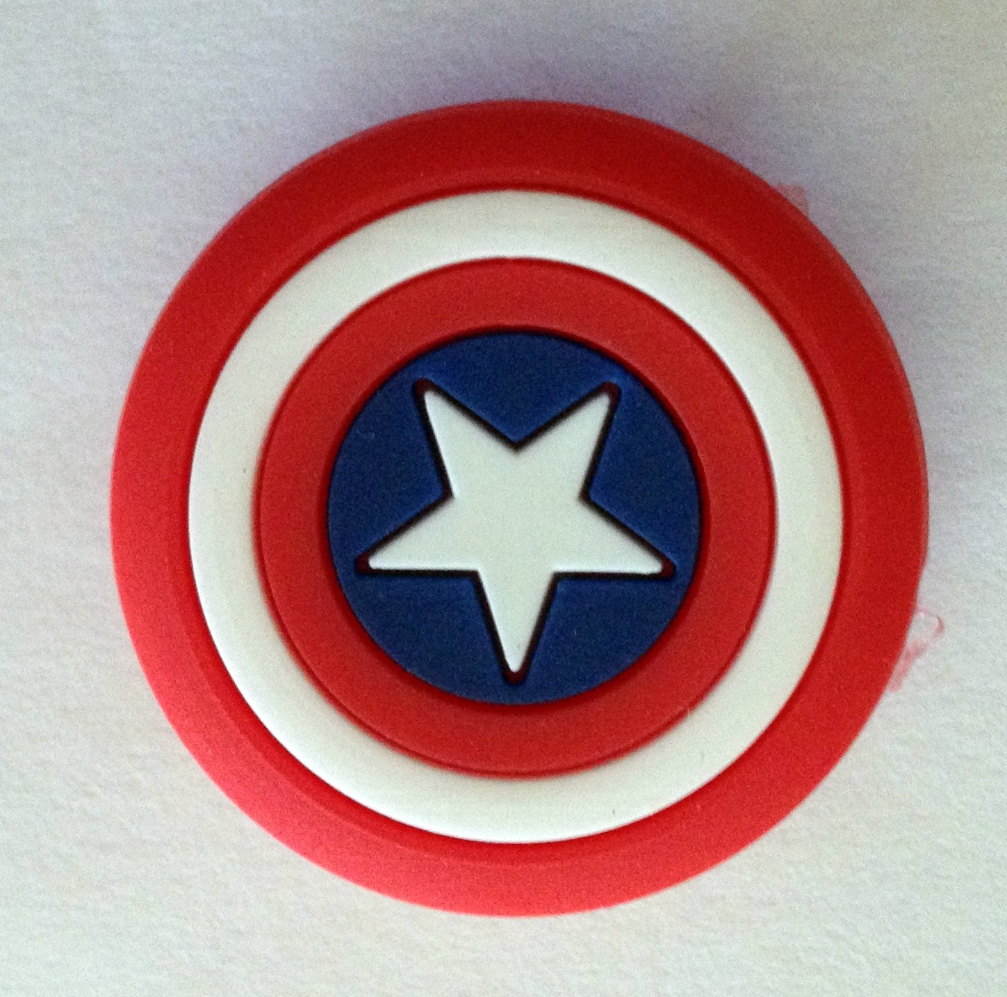 Captain America Comic Book Emblem Shoe Charm Party Favors