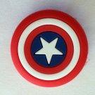 Captain America Comic Book Emblem Shoe Charm Party Favors