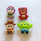 Disney Toy Story Woodie Buzz Lotso Shoe Charms Party Favors