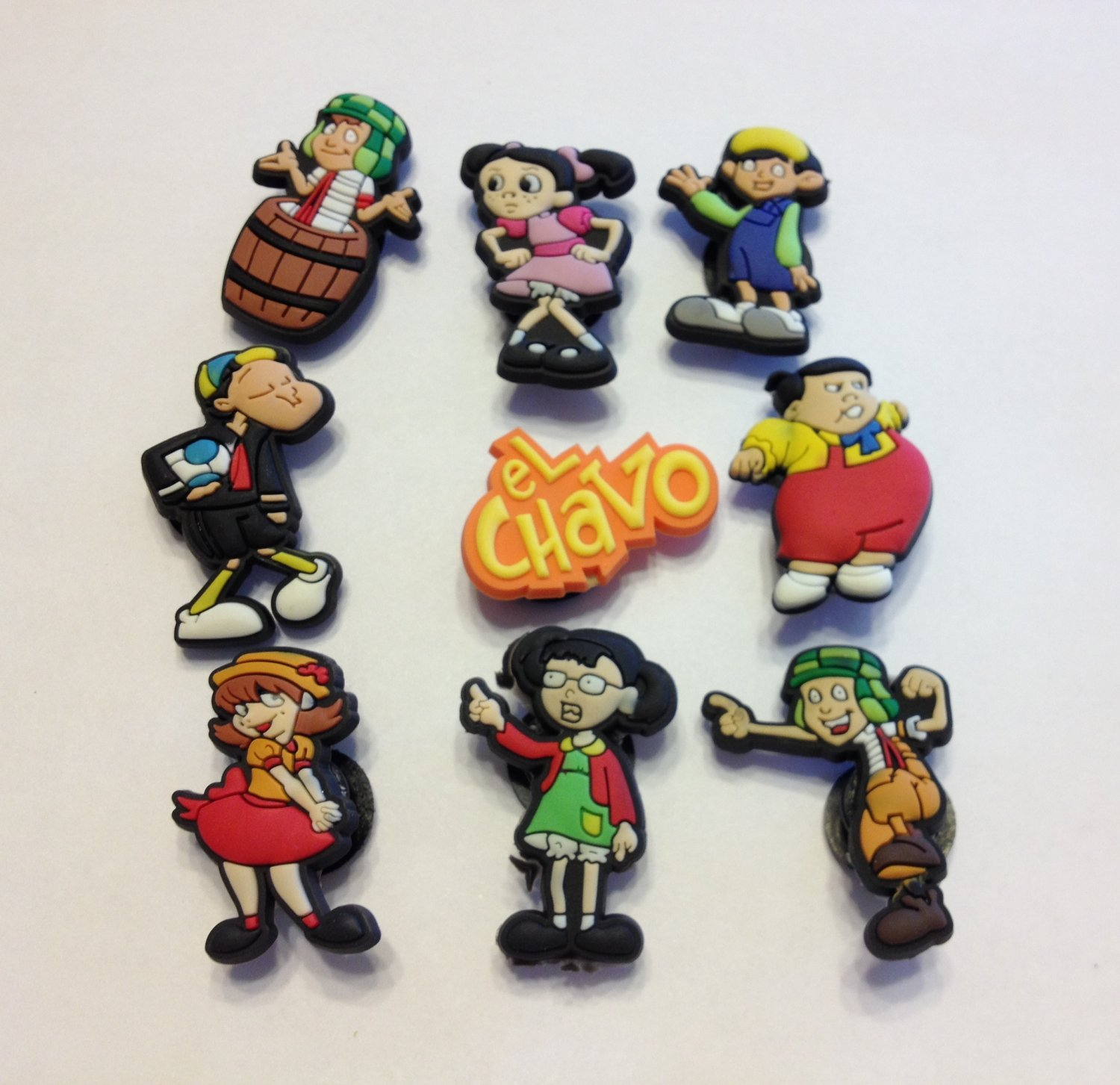 El Chavo Shoe Charms Party Favors