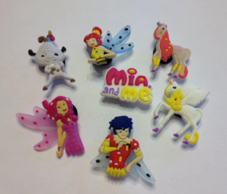 Mia & Me Shoe Charms Party Favors