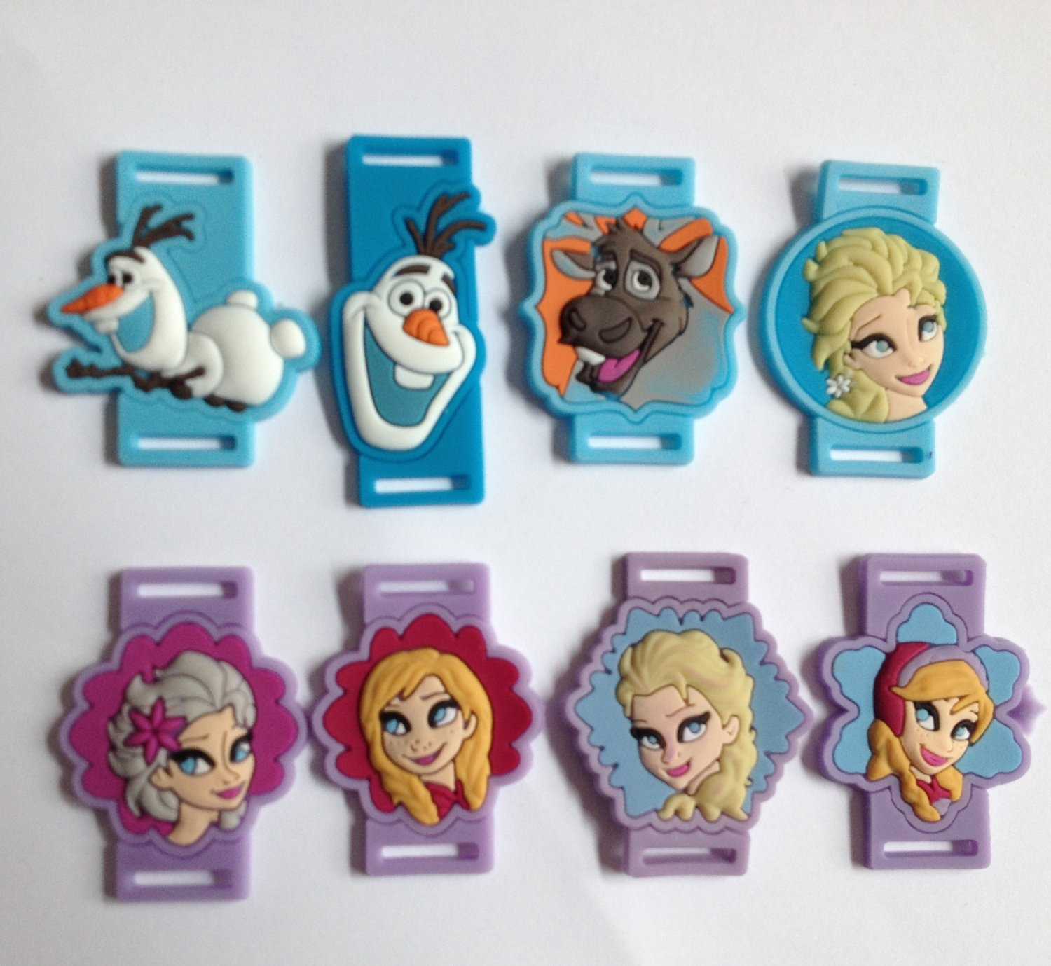 PVC Shoe Lace Cartoon Character Inserts - Frozen