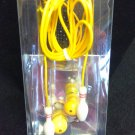 Bowling Pin Earbuds - YELLOW