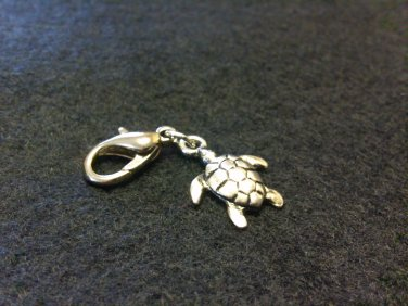 Turtle Shoe Charm