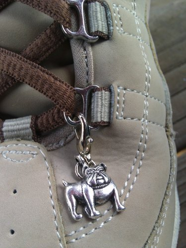 Bulldog Shoe Charm
