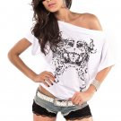 Ladies Top, Tribal Printed Dolman Sleeve T-shirt