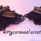 Angelic pretty melty chocolate wrist cuffs black