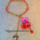 Angelic pretty drained cherry bracelet pink