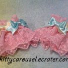 angelic pretty dreamy colorful ribbon wrist cuffs pink