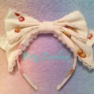 Angelic pretty country of sweets headbow white