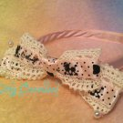 Angelic pretty poodle headbow pink