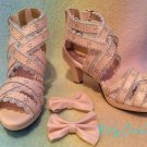 Dream V princess sandals pink