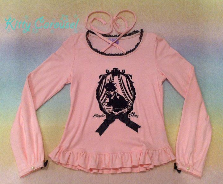 Angelic pretty Cinema cat cutsew pink