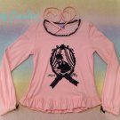 Angelic pretty Cinema cat cutsew pink
