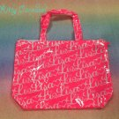 Liz Lisa logo tote hot pink