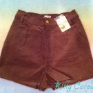 Liz Lisa natural waist shorts brown