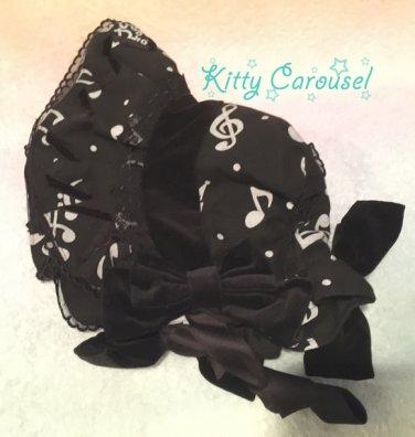 Angelic pretty melody doll bonnet black