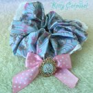 Disney x Angelic Pretty Upside Down Story Alice scrunchie sax