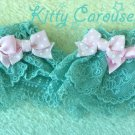 Angelic pretty Melody Ribbon Wrist Cuffs mint