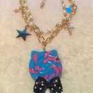 aatp candy cat bracelet blue
