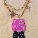 aatp candy cat bracelet purple