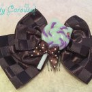 aatp Candy Cat ribbon comb mint