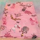 Metamorphose melody poodle place mat pink