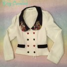 SALE Innocent world King of Spades and Queen of Hearts Jacket off white