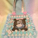 Disney x Angelic Pretty Upside Down Story Alice tote sax