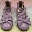 Secret shop tea party shoes lavender size LL