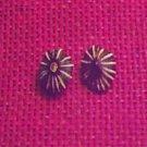 Item 017 Black or Brown Star Stud Earrings