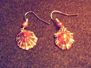 Item 025 Stars on wires earrings