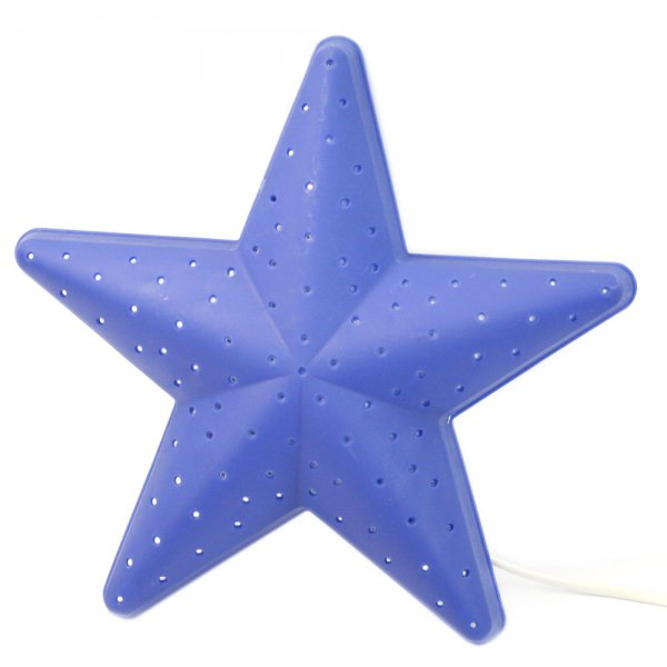 Five-pointed Star Pattern Nightlight Lamp