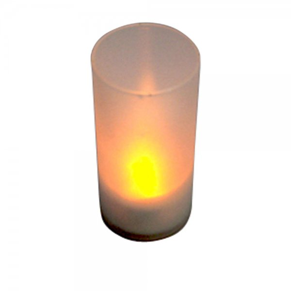 Yellow Led Electronic Candle Light Sound Sensor Flicker
