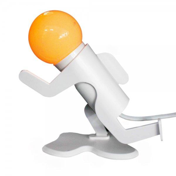 Light Running Boy LED Nightlight ABS Lamp Yellow