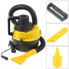 12V Wet & Dry Auto Car Dust Vacuum Cleaner with Brush / Crevice / Nozzle Head