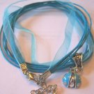 LOVE THIS TURQUOISE LADY BUG VOILE NECKLACE & PENDANT